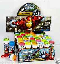 LOT 36 FLACON BULLE DE SAVON AVENGERS IRON MAN 120 ML MARVEL