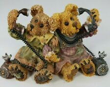 BOYDS BEARS BEARSTONE ALEXANDRA AND BELLE TELEPHONE TIED---#227720-1999