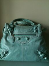 100% Authentic Balenciaga Giant fallenden Hardware Mid Day Tasche Malediven £ 1145