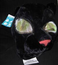 Maskimals Black Cat Panther big head costume halloween mascot