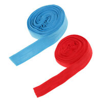 2pcs Polyester Flat Elastic Stretch Band Cord for Sewing Clothes Waistbands