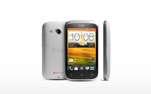 HTC Desire C in Weiß Handy Dummy Attrappe - Requisit, Deko, Werbung, Muster