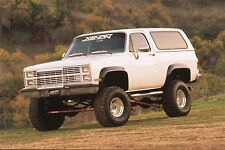 1981 - 1987 Blazer Jimmy CK Truck 4pc Fender Flare Set  - 8400 Kit