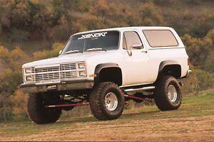 1981 - 1987 Blazer Jimmy CK Truck 4pc Fender Flare Set  - 8400 Kit