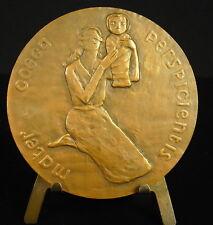 Médaille au  dramaturge poète essayiste diplomate Paul Claudel 68mm Mater Medal