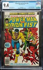 POWERMAN+IRON FIST #50 1978 CGC 9.4 SWEET OFF WH TO WHITE 1ST BYRNE BRONZE KEY