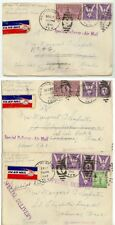 1942 Weatherford Texas Air Mail Special Delivery to Washington - soldier WWII