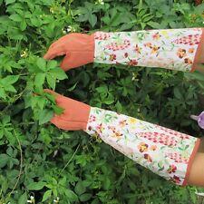 Long Cuff Punktion Gartenhandschuhe Damen Arbeitshandschuhe Garten Handschuhe