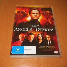 ANGELS & DEMONS - THEATRICAL EDITION ( 2009, DVD REGION 4 ) TOM HANKS ~ LIKE NEW
