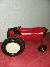 Vintage Metal Red International Toy Tractor farm ranch decor theme
