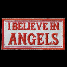 Hells Angels Support Patch  I BELIEVE IN ANGELS  Original 81 Support Aufnäher