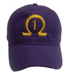 Omega Psi Phi Line Number Hat (Any Number available)