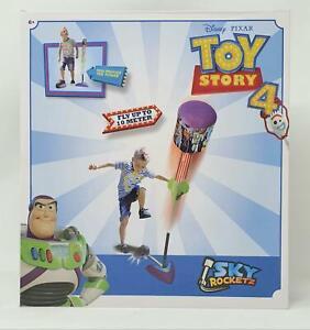 Disney Rocket Launcher - Garden Playtime Kids Jump Outdoor - Toy Story 4