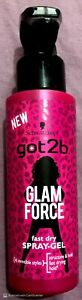 Schwarzkopf Got2b Glam Force GEL Spray 150ml