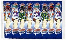 (100g=1,58€) Schneemänner am Stiel Weiße Schokolade Nikolaus 8 Stück - 120g