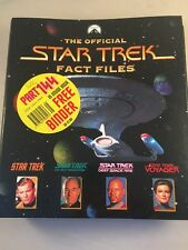 Collectible The Official Star Trek Fact Files No10 - star trek fact file 10