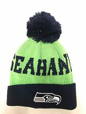 NFL Newborn/Infant/Toddler Seattle Seahawks Team Colors Cuffed Knit