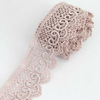3 Yards Polyester Venise Lace Applique Trim Craft Embellishments Sewing Trimming