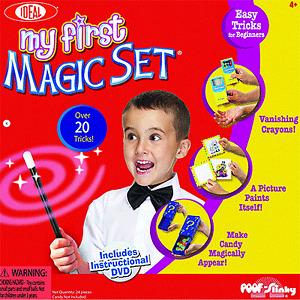 My First Magic Set (0C486) by Ideal  Magic Trick POOF - Slinky LLC