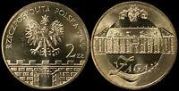 Pologne. 2 Zloty. 2006 (Pièce KM#Y.569 Neuf) Ville historique Zagan