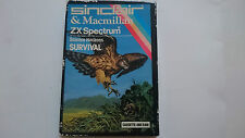 SCIENCE HORIZONS SURVIVAL  CAJA DE CARTON COMPLETA SPECTRUM SINCLAIR 48K ZX UK