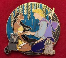 Pocahontas Fantasy Tales Meeko Flit Percy Disney limited pin 50