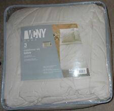 VCNY Home Julie Birch(Beige) 3 Piece Queen Comforter Set NWT