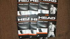 Head Sonic Pro Edge Tennis String Monofilament Grey 16g 40ft 6 Packs
