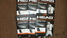 Head Sonic Pro Tennis String Monofilament Grey 16g 40ft 6 Packs