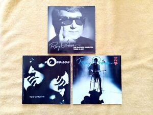 Roy Orbison the platinum collection 3x cd. Mystery Girl cd. King of hearts CD