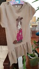 Mayoral vestido niña talla 122 7 años muy original dress robe Kleid hoher NP