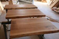 Holzplatte Eiche Bad Baumkante geölt Waschtisch Aufsatzwaschbecken Badezimmer