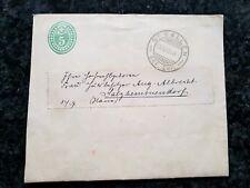 Streifband Schweiz Ziffer 5c. grün St. Gallen, vom 13.04.1905 ( 113 Jahre alt) !
