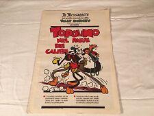 TOPOLINO NEL PAESE DEI CALIFFI il messaggero 19 AGOSTO 1989