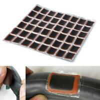48PCS Rubber Puncture Bicycle Bike Tire Tyre Tube Repairing 34mm Patch Kit Glue