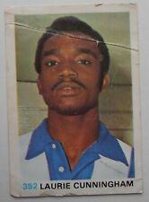 FKS Soccer Stars 1977-1978 NUMBER 352 LAURIE CUNNINGHAM