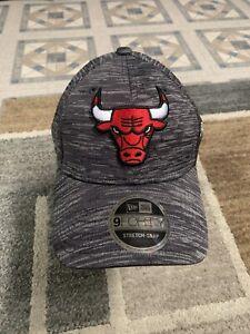 Chicago Bulls New Era 9FORTY Stretch SnapBack Cap - OSFM