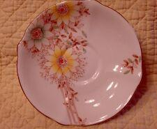 Vintage Bell Fine Bone China England Handpaint Sunflower Pattern Saucer ONLY GG