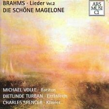 Brahms/Michael piena-CANZONI 2 bei Magelone CD NUOVO