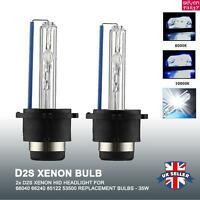 2x D2S xenon HID headlight light bulbs 8000K 10000K REPLACEMENT BULBS-OEM 85122