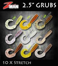 Zman Grubz Soft Plastics 10x Stretch