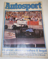 Autosport Magazine France: Jones Makes It Legal July 1980 080514R1