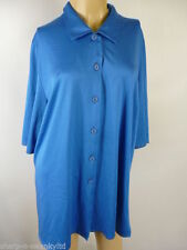 Unbranded Polycotton Classic Collar Tops & Shirts for Women