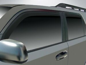 Toyota 4Runner 2010 - 2019 Wind deflectors In-Channel