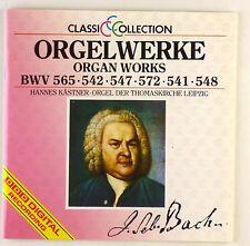 CD - J.S. Bach - Orgelwerke BWV 565 • 542 • 547 • 572 • 541 • 548 - A4896