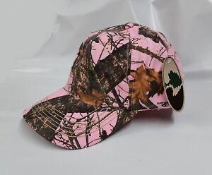 Pink Mossy Oak Breakup Camo Baseball Hat, MOPNK16, Lot of 1