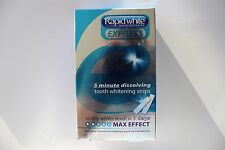 RapidWhite Express 5 Minute Tooth Whitening Strips Max Effect - 1 Week Supply
