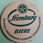 alter Bierdeckel STERNBURG BIERE 🍺 VEB 3-5