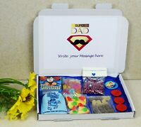 Personalised Fathers day Small Sweet Hamper For Dad Grandad Granddad Million