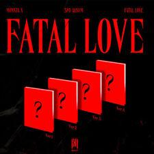 MONSTA X  [FATAL LOVE] 3rd Album[4 ver. set]All package+Preorder B.P+Ktown Photo